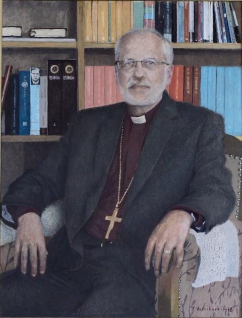Piispa Simo Peuran muotokuva