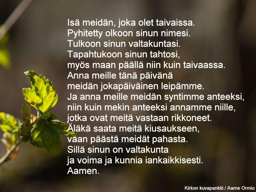 Isä meidän -rukous