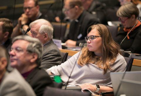 kirkolliskokous kuvitus