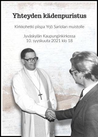Yrjö Sariolan muistohetki mainos